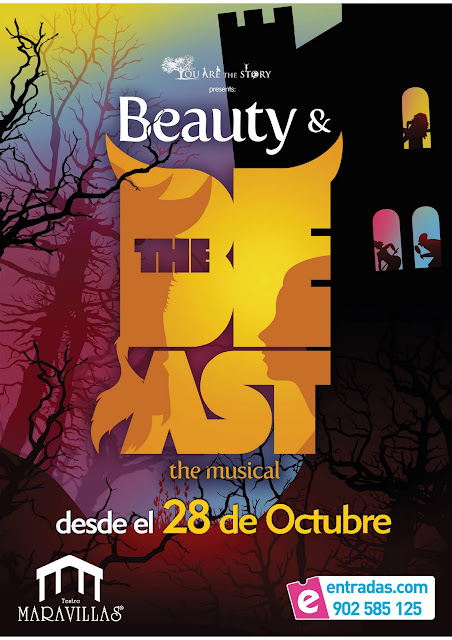 Cartel de Beauty & the Beast