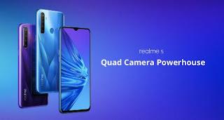 Spesifikasi lengkap Realme 5