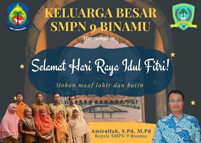 SMPN 9 Binam' Kasek dan Guru