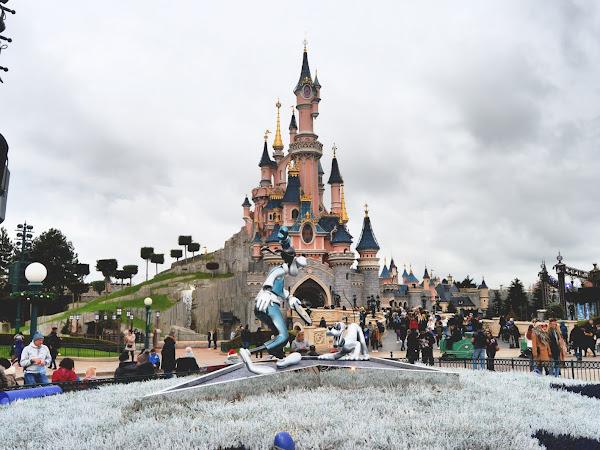 Disneyland Paris At Christmas  - Ten Things I Will Miss This Year