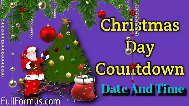 Christmas Day 2021 countdown