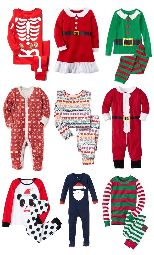 Hello Baby Brown  Little Favorites    Christmas Pajama Roundup b6887c05c