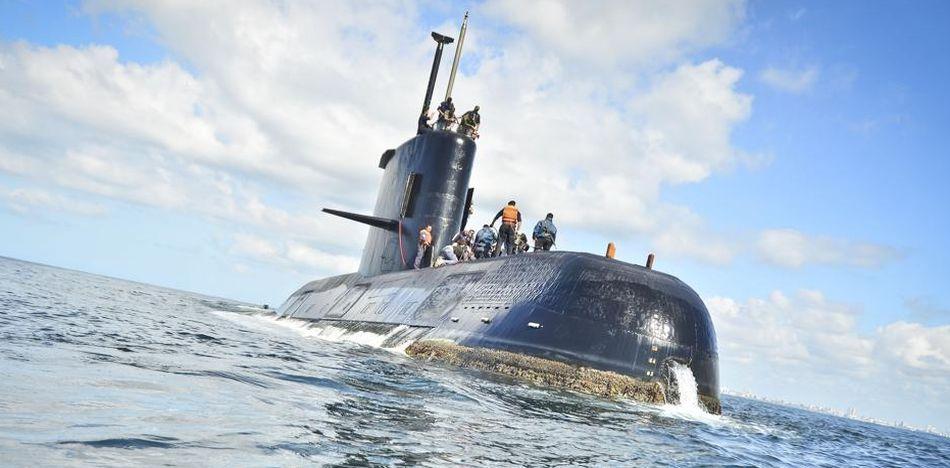 Submarino ARA se dirigía a Mar del Plata y registró una explosión cercana el 15 de noviembre