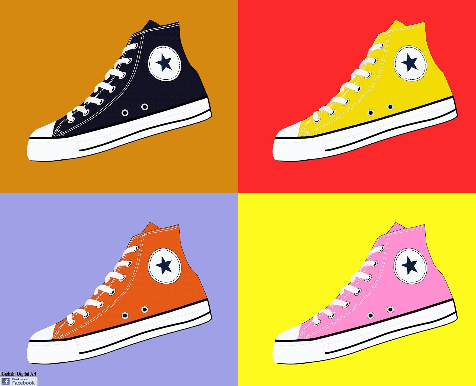 Converse Pop Art Shoes