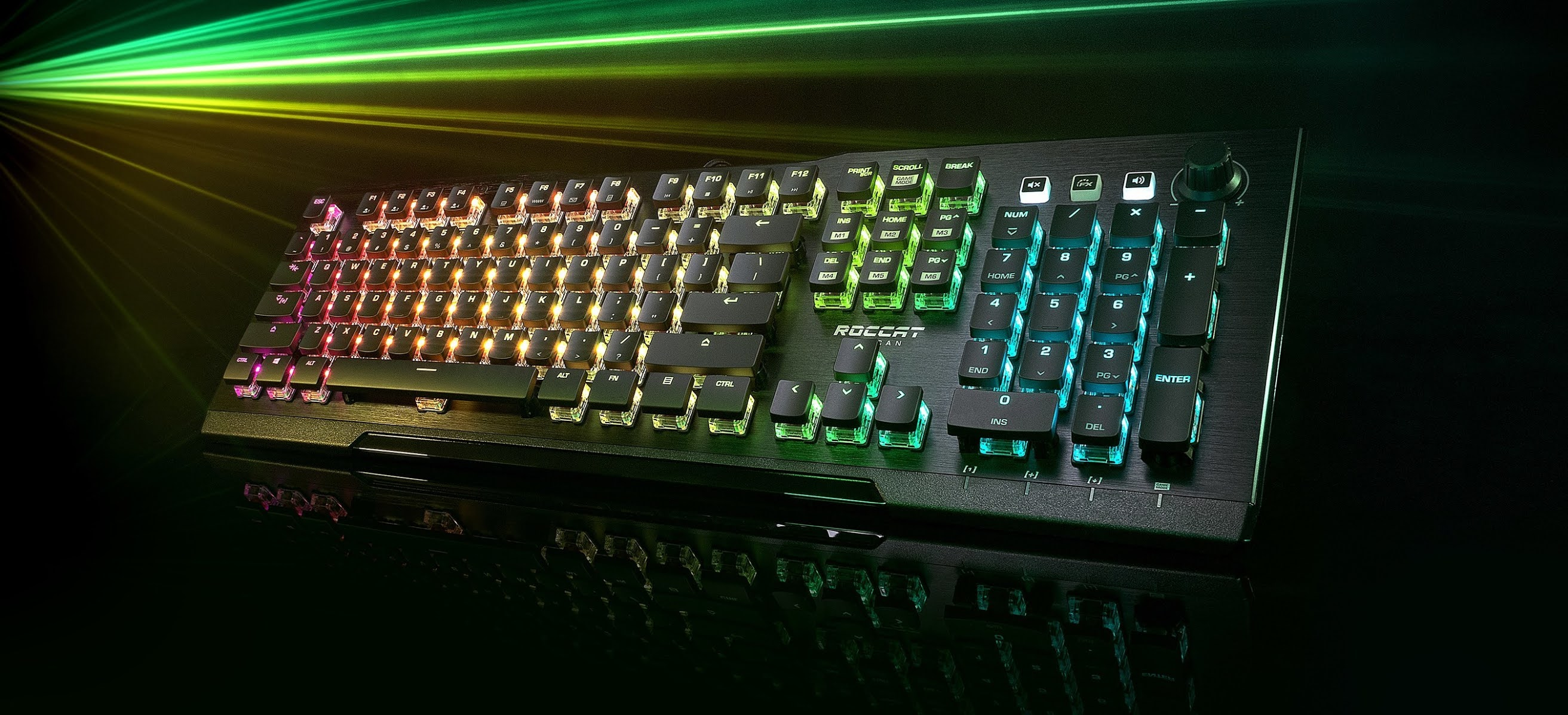 ROCCAT Expands Award-Winning Vulcan PC Gaming Keyboard Series With New Vulcan Pro Model Featuring the Brand's Fan-Favorite Tactile Mechanical Switch Feeling