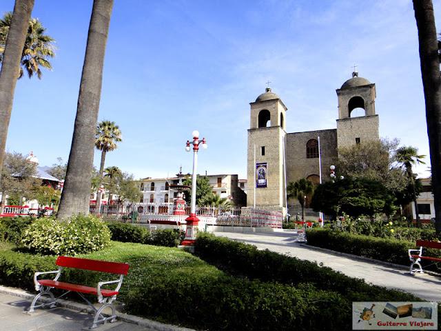 Plaza Principal de Caraz