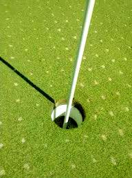 Golf Aranjuez pinchado greenes