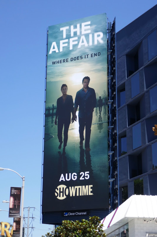 The Affair final season billboard