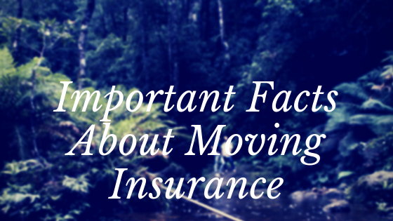 Important Facts About Moving Insurance