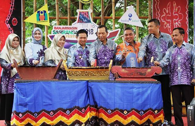 Banjarmasin Sasirangan Festival (BSF) 2018, Kain Sasirangan Mendunia