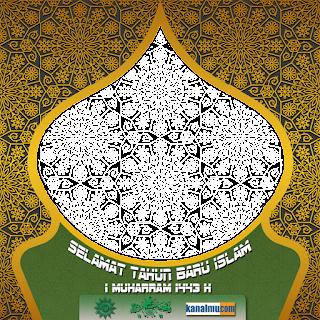 twibbon ucapan selamat tahun baru islam 1 muharram - kanalmu