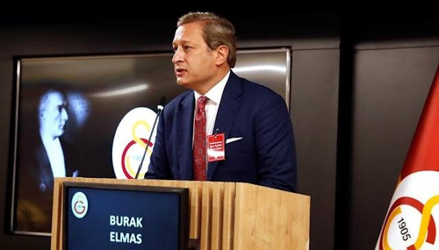 Galatasaray'ın yeni başkanı Burak Elmas!