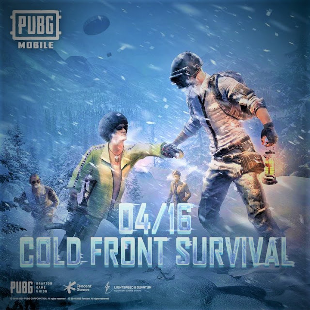 On April 16th, PUBG Mobile will launch a new mode called Cold Front Survival. Let's see what awaits us in this mode