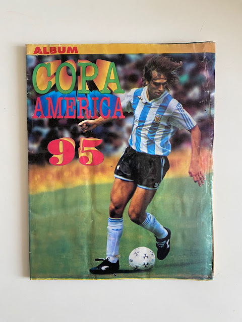 Copertina Copa America '95 Album Navarrete