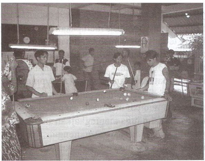 Communal Space lantai 1 rumah susun Bandarharjo,  Semarang dapat digunakan untuk area rekreasi atau bermain