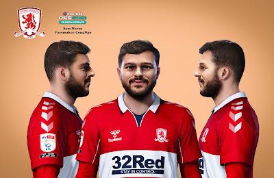 PES 2021 Faces Sam Morsy by CongNgo