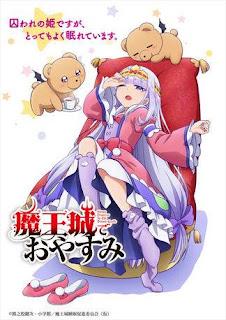 Sinopsis Maou-jou de Oyasumi poster
