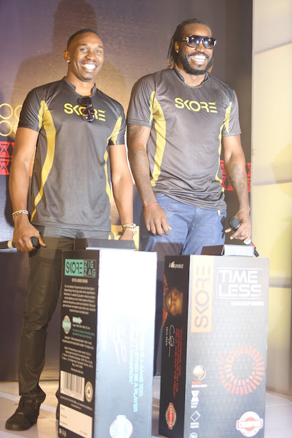 Skore a condom brand has partnered with popular West Indies cricketers