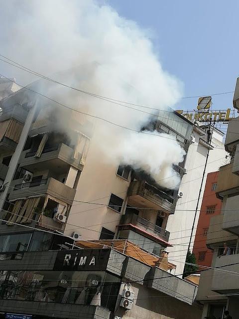 حريق منزل جيسى عبدو