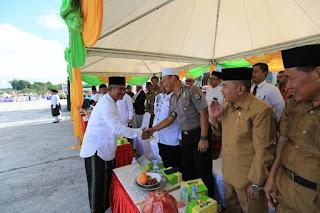 Wali Kota Tarakan Bertindak Sebagai Pembina Upacara Peringatan Hari Santri Nasional Tahun 2019 - Tarakan Info