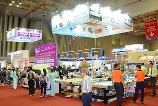 900 doanh nghiệp tham gia Triển lãm Công nghiệp Dệt may VN