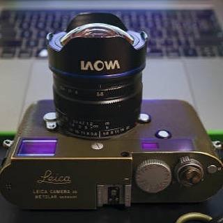 Laowa 9mm f/5.6 с камерой Leica M
