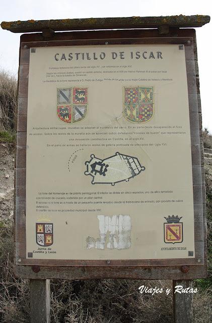 Cartel del Castillo de Íscar, Valladolid