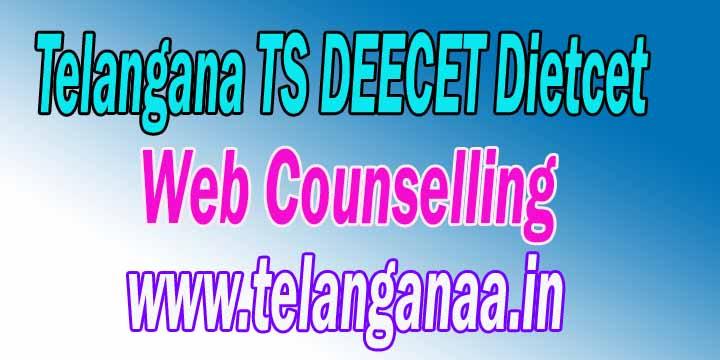 Telangana DEECET Web Counselling 2018