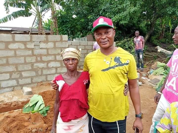 Good Samaritan Builds  Bedroom Flat For a Widow in Other Better Her Life - See Photos