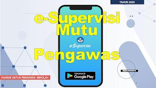 Cara Menggunakan E Supervisi Pengawas Versi Android
