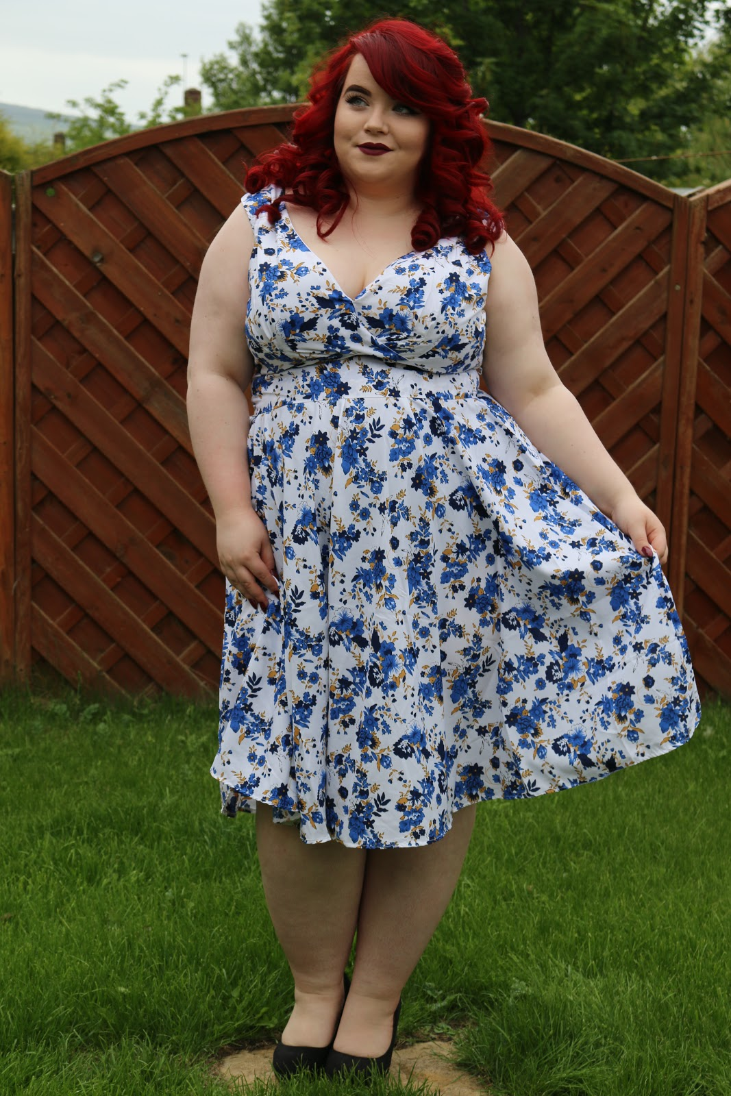 Vintage Clothing Do You Think Its Coming Back: BBW Couture's Floral 1950s Vintage Party Dresses