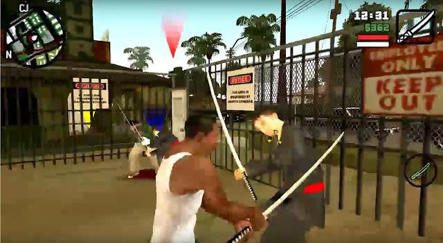 Sword Play Cleo Mod GTA SA Android Location gtaam