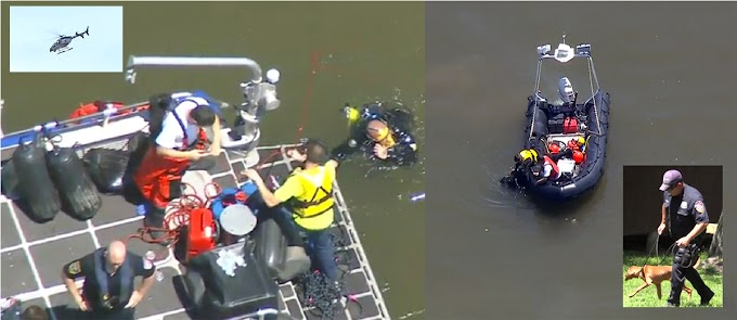 Sigue búsqueda sin éxito de dominicano ahogado en el río Hudson