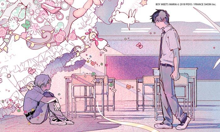 Boy Meets Maria - manga BL - PEYO (Kousei Eguchi) - Milky Way Ediciones