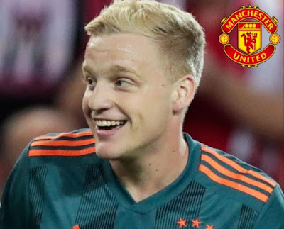 Manchester United To Complete £45m Van de Beek Signing From Ajax
