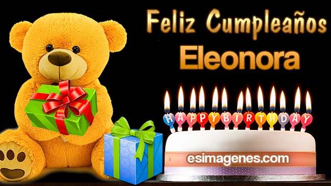 Feliz Cumpleaños Eleonora