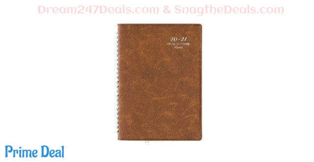 50% off  2020-2021 Academic Planner with Leather Cover
