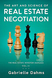 The Art and Science of Real Estate Negotiation - non-fiction book promotion by Gabrielle Dahms