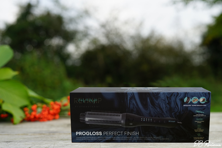 Revamp Progloss Perfect Finish Heated Hair Styling Brush