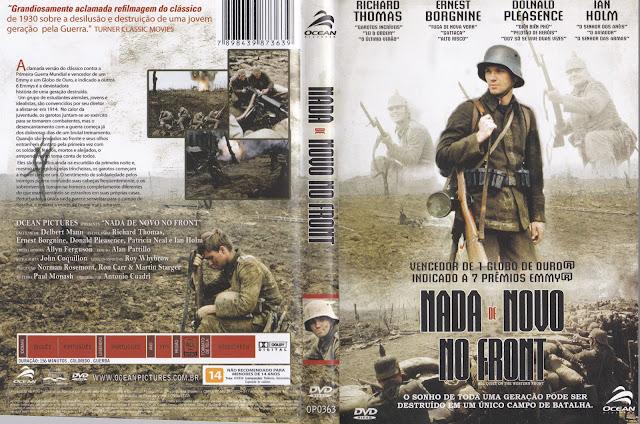 Capa DVD Nada De Novo No Front