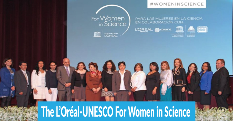 L'Oréal-UNESCO for Women in Science International Awards 2022