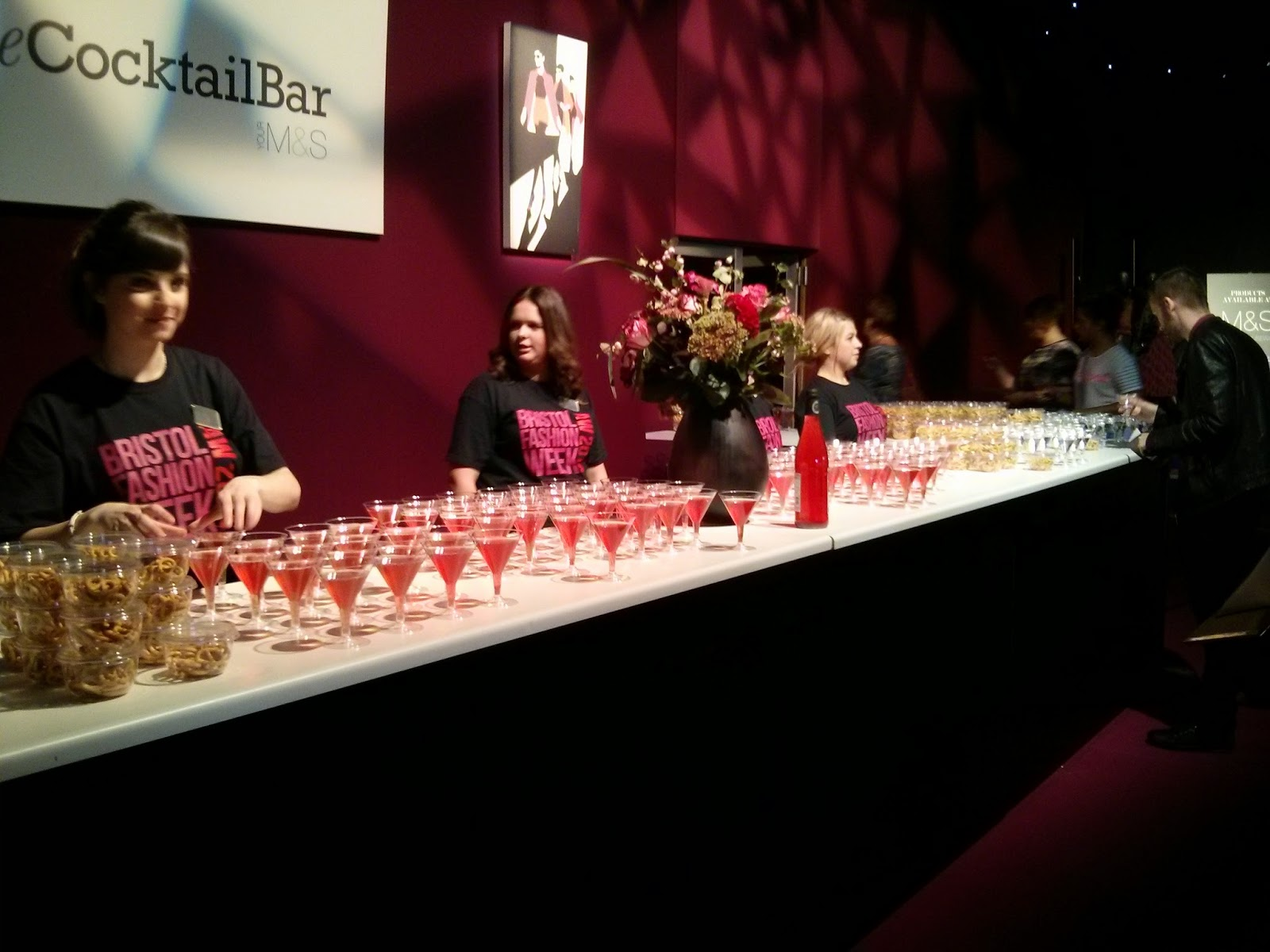 Cocktail Bar, Bristol Fashion Week AW 2014