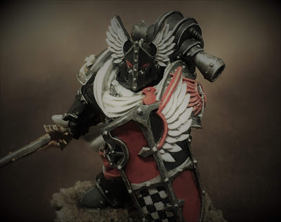 Horus Heresy Dark Angels Praetor WIP - title