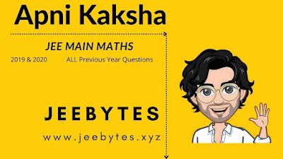 Apni Kaksha JEE Main Mathematics PYQ's Notes