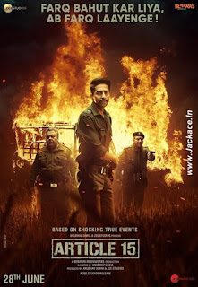 Article 15 First Look Poster 2