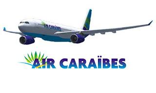 Airbus Air Caraibes à destination de la République Dominicaine - aéroport de Saint Domingue