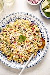 MEXICAN STREET CORN SALAD { video}