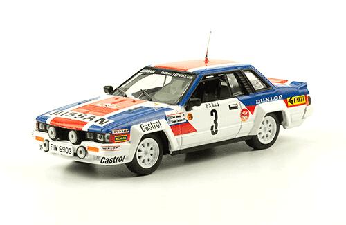 collezione rally monte carlo Nissan 240 RS 1984 T. Salonen - S. Harjanne