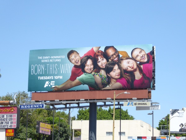 Born This Way season 2 billboard