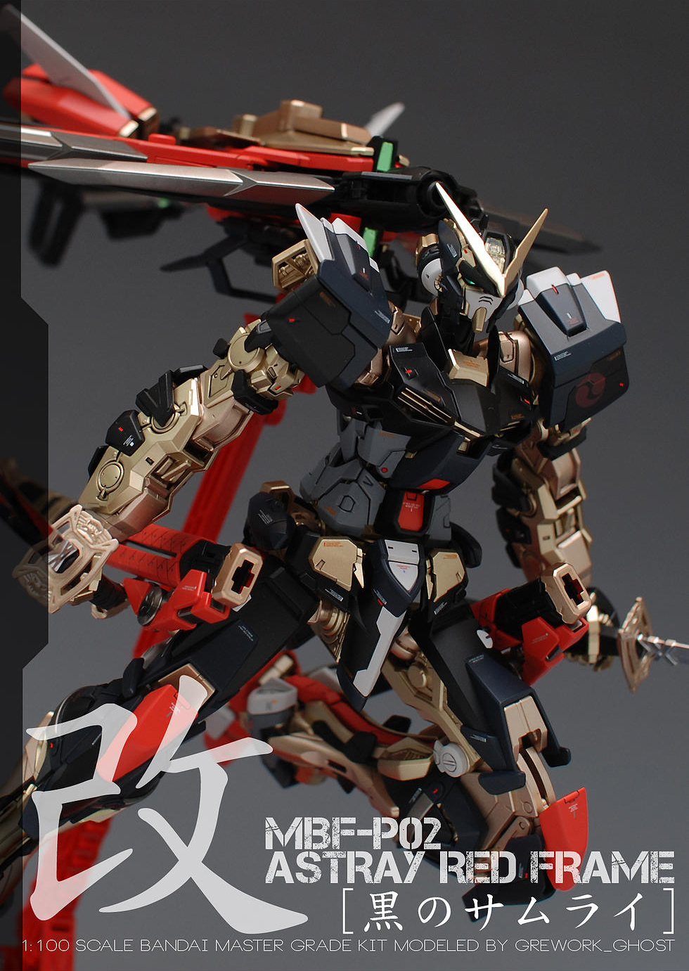 Custom Build Mg 1 100 Gundam Astray Red Frame Kai Quot Ver